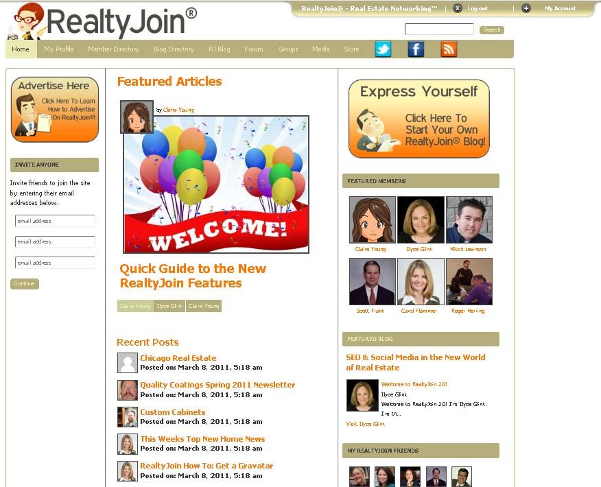 RealtyJoin screen grab