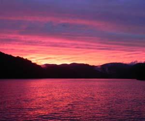 Sunset Over Lake Nantahala