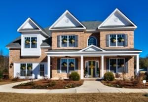 Springfield Model Home Exteior