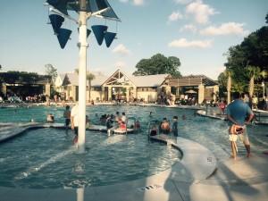 Carolina Park swimming pool party
